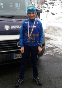 Mattia Piller Hoffer leader Coppa Italia Under 13